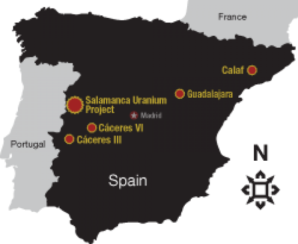 Espanya, segons Berkley Resources Ltd - Calaf
