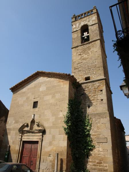 església de Sant Amanç de Torrefeta, on es presentarà el treball - Torrefeta