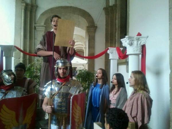 Presentació de 17ena edició del  Mercat Romà a Guissona