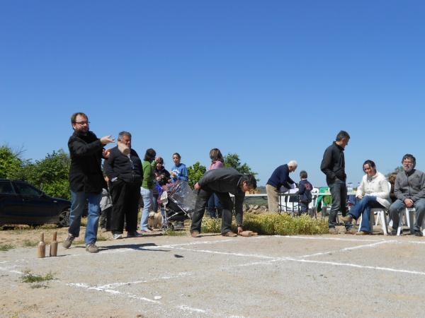 26.05.2013 tirada de bitlles a la festa major de Selvanera  Selvanera -  Ajuntament TiF