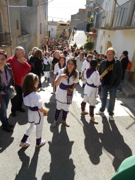27.05.2013 El bateig dels bastoners aplegà un nombrós públic  Sedó -  Ajuntament TiF