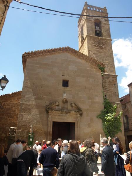 exterior de l'església de Sant Amanç - Torrefeta