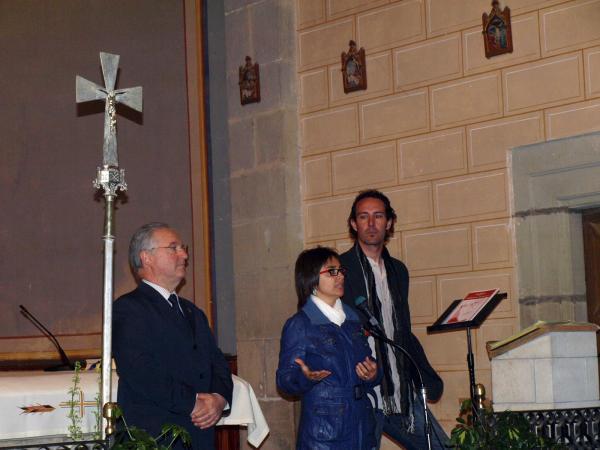 26.05.2013 imatge de l'acte, a l'interior de l'església parroquial de Torrefeta  Torrefeta -  David Garcia