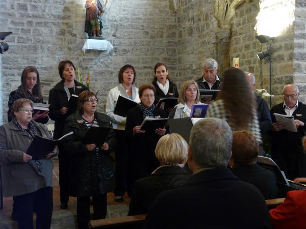 19.05.2013 Concert de la Coral Vall d'Ondara a l'aplec de Sant Isidre  Sant Antolí i Vilanova -  CC Segarra