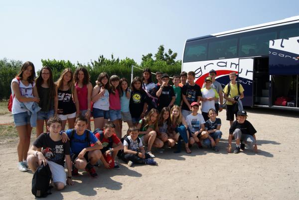 01.07.2013 Les colònies d'estiu 2013 del Consell Comarcal compten amb una trentena de nens i nenes  -  CC Segarra