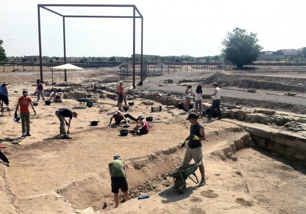 08.07.2013 inici curs arqueològia a Iesso  Guissona -  Premsa Guissona