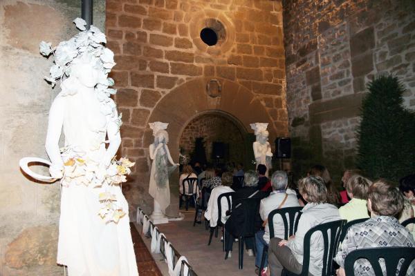 28.06.2013 acte oficial d'inauguració  del Mercat Romà  Guissona -  Premsa Guissona