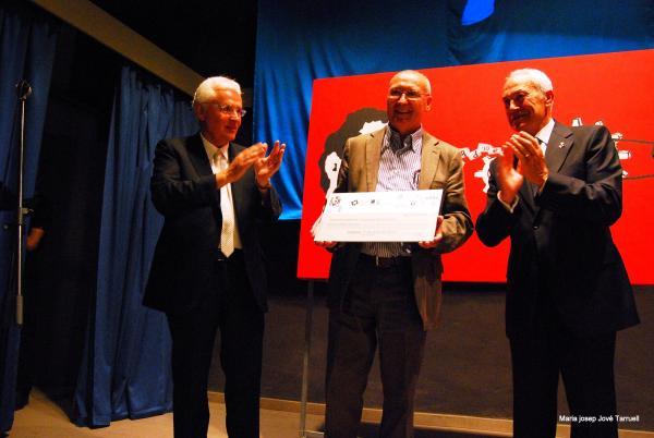 06.07.2013 Leandre Iborra Polo, guanyador de la 8a edició del premi literari de relats 7lletres  Concabella -  Maria Josep Jové