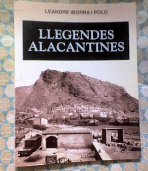 Portada del llibre Llegendes Alacantines de Leandre Iborra -