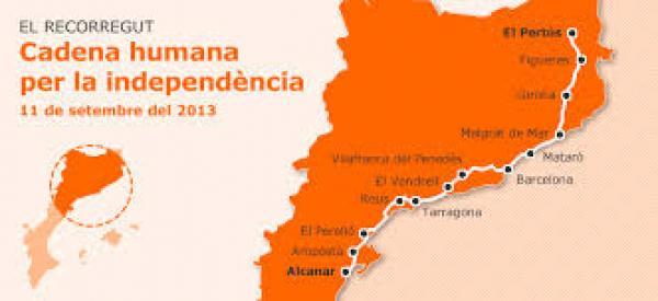 recorregut de la Via Catalana