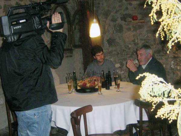 Josep Puigpelat en la presentació de la cervesa Calamanda - Calaf
