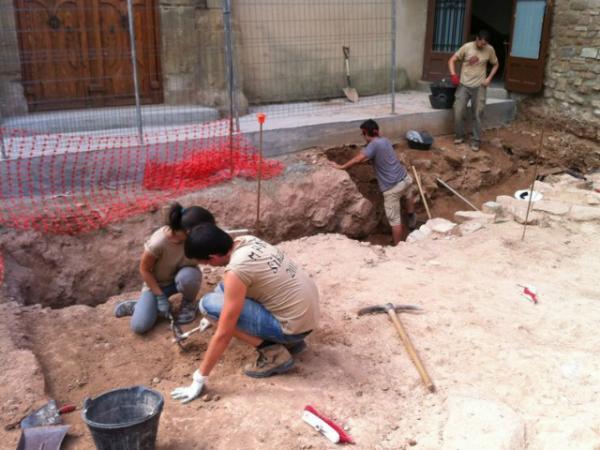 Excavacions de l'oppidum ibèric - Els Prats de Rei