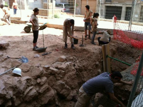 Excavacions de l'oppidum ibèric