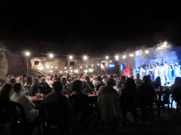 05.07.2013 El sopar, a l'Obra de Fluvià, aplegà 150 persones  Guissona -  Kuartos de Segle