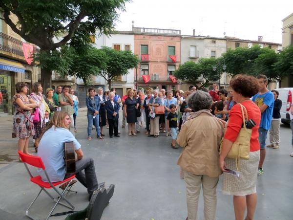 11.07.2013 Itinerari poètic Jordi Pàmias  Guissona -  Premsa Guissona