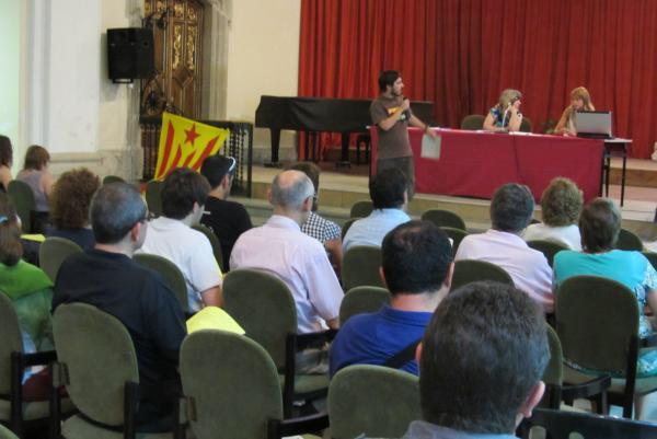 sessió informativa a l'auditori de Cervera, dilluns 15 de juliol - Cervera
