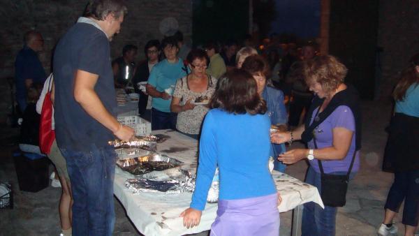 19.07.2013 Preparatius de la caminada la Lluna Plena  Sant Guim de Freixenet -  CC Segarra