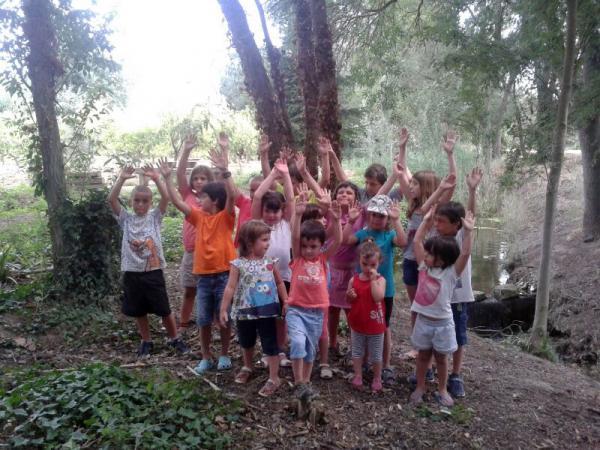 18.07.2013 Una trentena d'infants al Casal d'Estiu de Sedó  Sedó -  Marina Jové