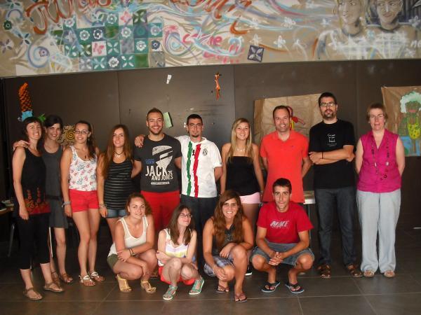 24.07.2013 Foto de cloenda del curs de monitors de lleure  Guissona -  Premsa Guissona