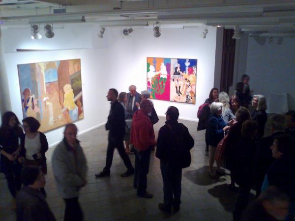 Detall d'una exposició a Cal Talaveró - Verdú