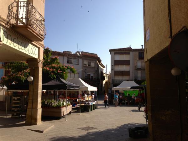 05.08.2013 Mercat setmanal  Santa Coloma de Queralt -  tribus de la segarra