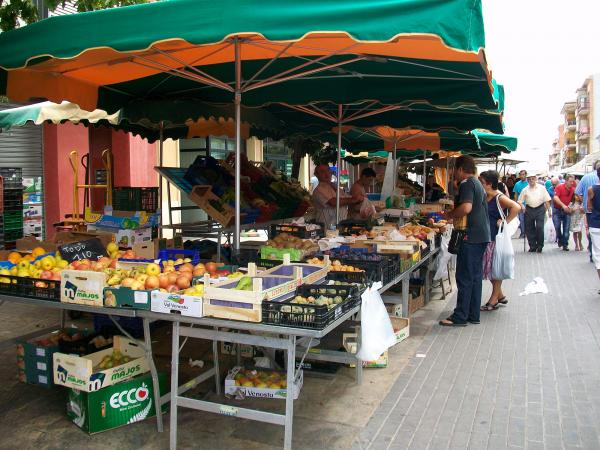 Mercat setmanal de Calaf - Calaf