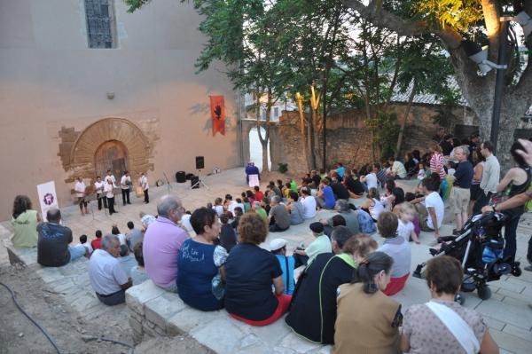 15.08.2013 primera edició del BruixaFolk  Cervera -  Ramon Armengol
