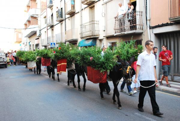 19.08.2013 Arribada de l'aigua per Sant Magí  Cervera -  Ramon Prats