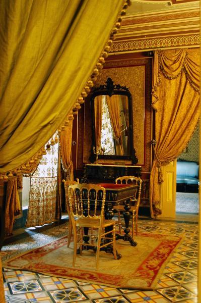 Detall d'una sala de la Casa Museu Duran i Senpere - Cervera
