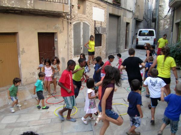 22.08.2013 La Festa de Sant Magí és una de les festes de barri amb la tradició més arrelada  Guissona -  Premsa Guissona