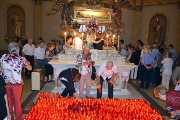 31.08.2013 Pelegrins al santuari de sant Ramon  Sant Ramon -  CC Segarra