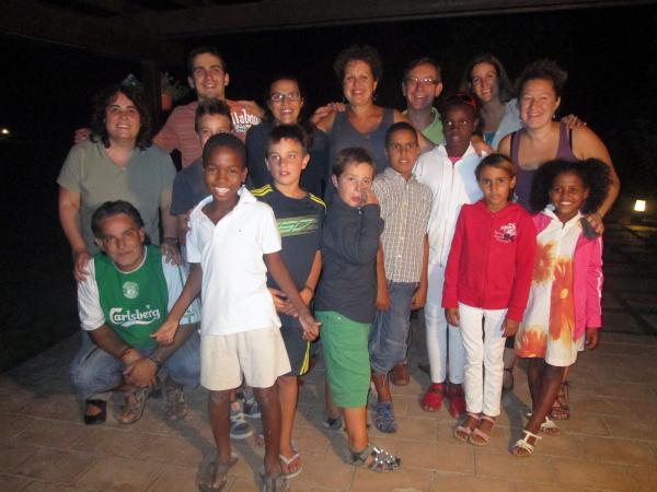03.09.2013 Acte de comiat dels infants saharauís vinguts a la comarca de la Segarra aquest estiu  Guissona -  Premsa Guissona