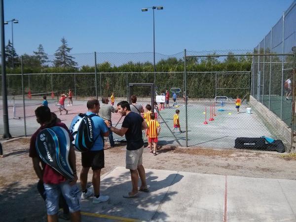 31.08.2013 Final dels cursets d'estiu de tennis  Torà -  Ramon Sunyer