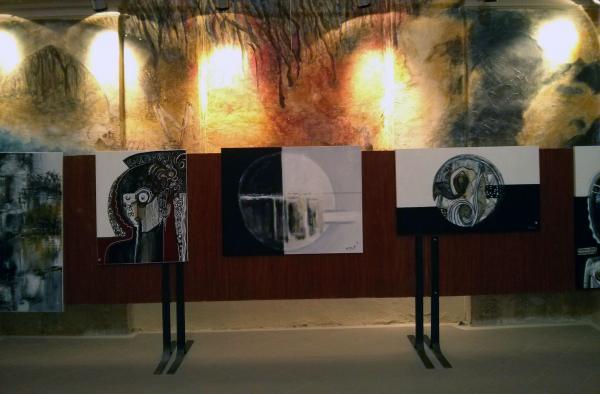 01.09.2013 Exposició de Vicent Torres  Torà -  Ramon Sunyer