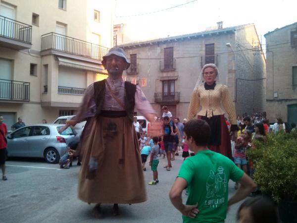 01.09.2013 Cercavila amb els gegants de Torà  Torà -  Ramon Sunyer