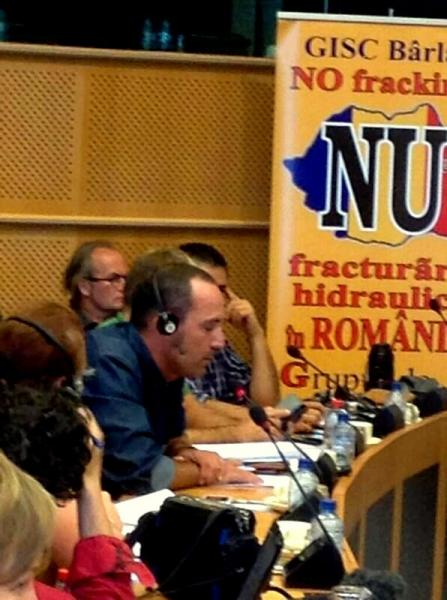 intervenció de Jaume Moya en representació de les plataformes catalanes i espanyoles - Brusel·les