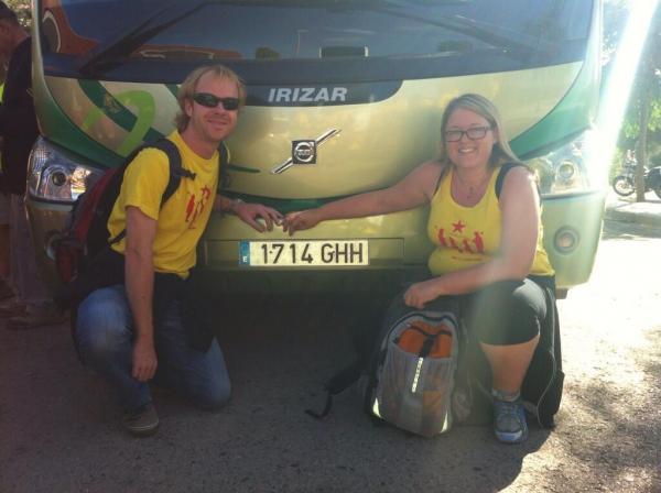11.09.2013 El nostre autocar, amb matricula 1714!!!   -  Jordi Vilaltella