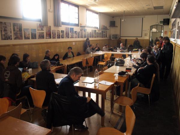 trobada de la PAf a Vic, el passat mes de març - Vic