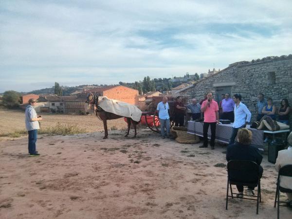 15.09.2013 Acte de cloenda de la collitasegarra  Sant Antolí i Vilanova -  Ramon Sunyer