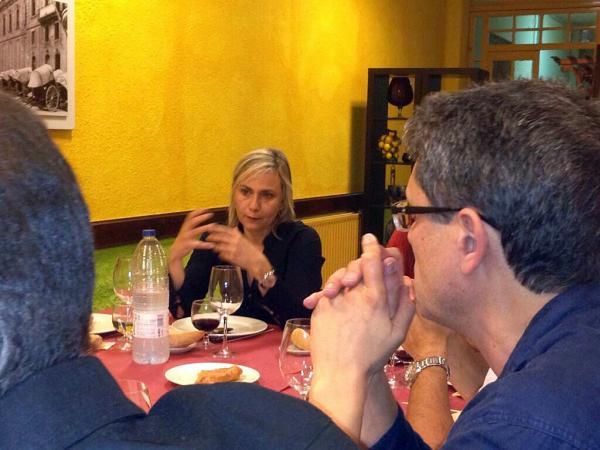 20.09.2013 Mònica Terribas participa de la 34a assemblea del Fòrum Espitllera   Cervera -  Jordi Oliva