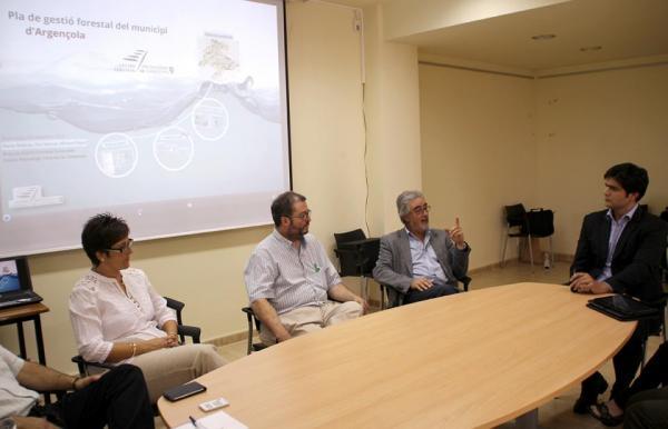 L'Ajuntament d'Argençola impulsa un Pla Forestal pioner a Catalunya