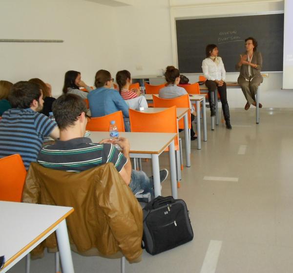 21.10.2013 Presentació de l'Associació Segarra Turística i Rural a la UdL  Lleida -  Associació Segarra Turística i Rural