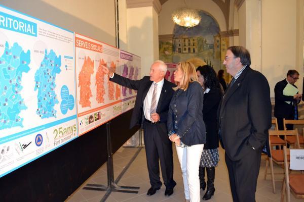 26.10.2013 Joana Ortega a l'acte commemoratiu dels 25 anys del Consell Comarcal de la Segarra  Torà -  CC Segarra