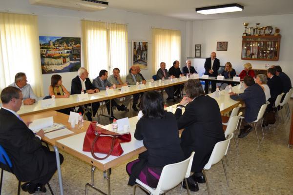 26.10.2013 el Consell d'Alcaldes va tractar sobre l'estat actual del PUSOC i el deute amb els ens locals  Torà -  CC Segarra