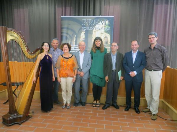 Gemma Casamajó guanyadora de la cinquena edició del premi Jordi Pàmias