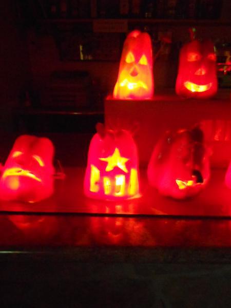 31.10.2013 els pebrots il·luminats  Florejacs -  Ajuntament TiF