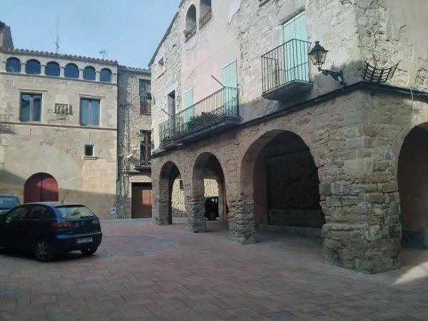 Plaça major dels Prats de Rei