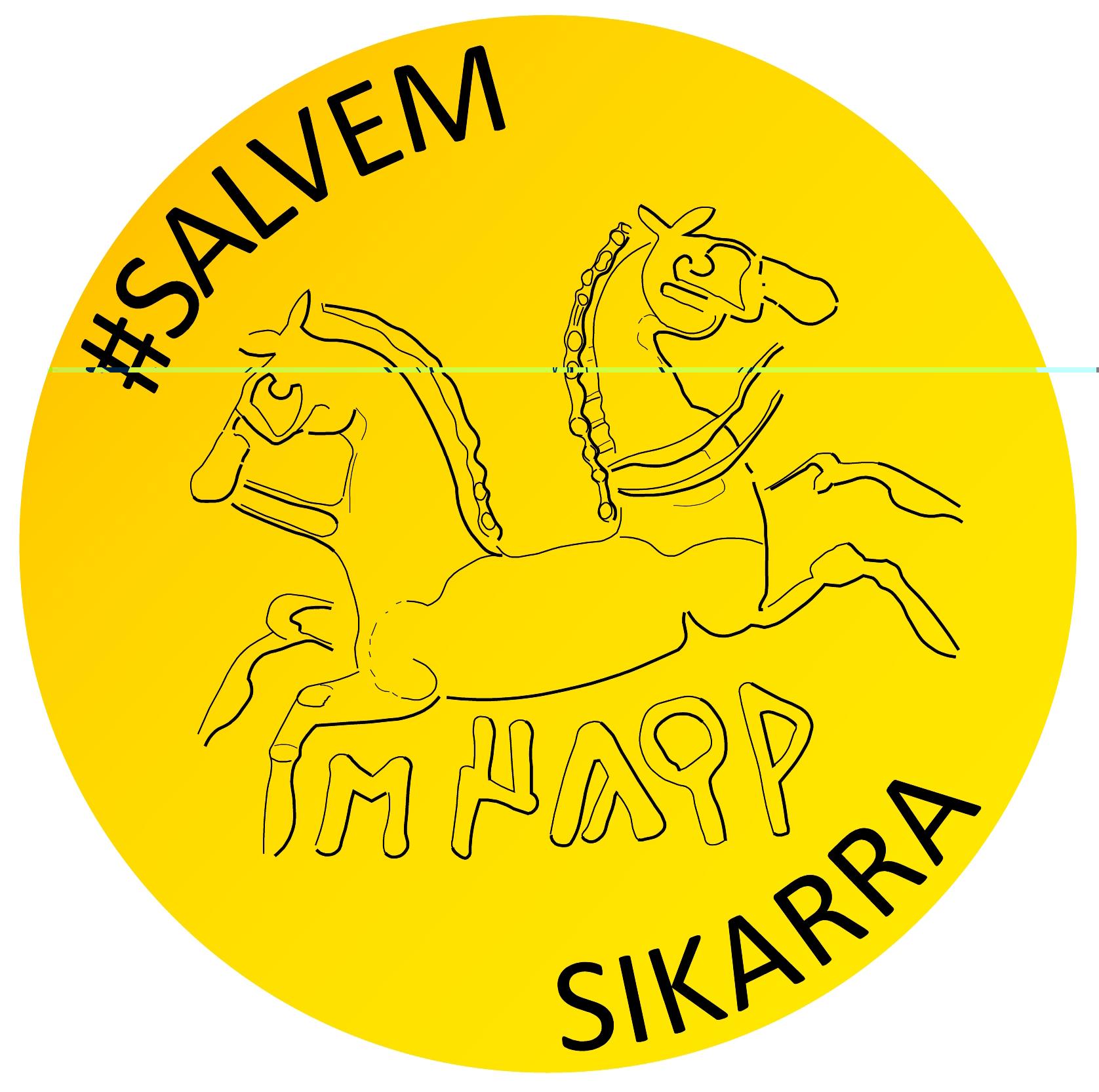 distintiu de la campanya #salvemSIKARRA -