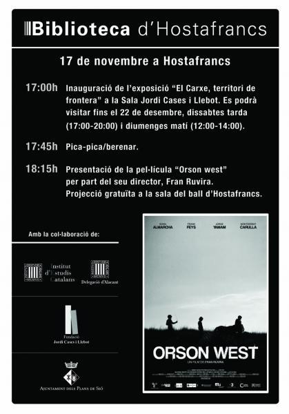 exposició EL CARXE, TERRITORI DE FRONTERA - Hostafrancs
