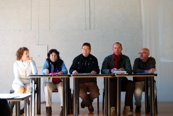 14.11.2013 Francesc Duocastella explicant la postura de l'ajuntament  Els Prats de Rei -  Ramon Sunyer